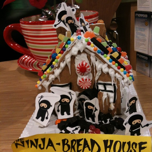 Ninja Gingerbread House @ The Big Carrot
