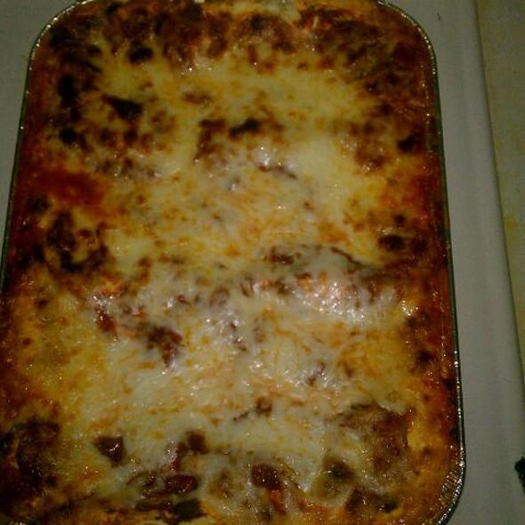 Baked Lasagna @ Lago's Crib