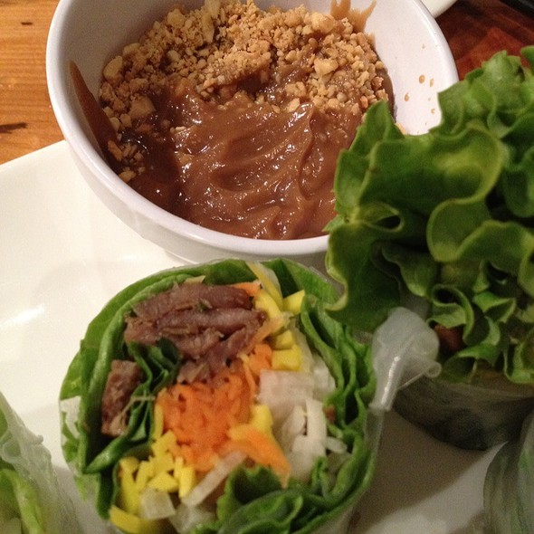 Mint Leaf Spring Roll @ Mint Leaf Vietnamese Restaurant