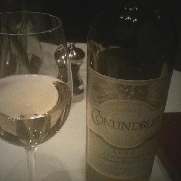 Conundrum White Wine @ Masselows
