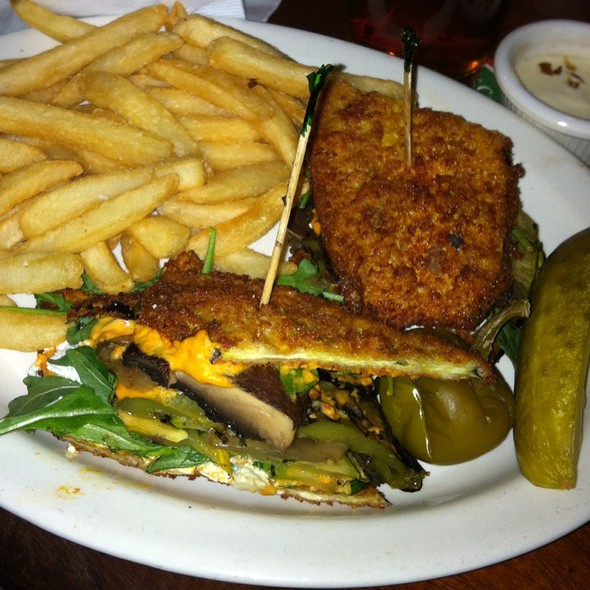 "Totally ""Veggie"" Sandwich @ Old Ebbitt Grill"