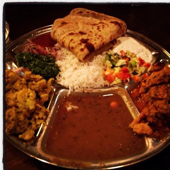 Chicken Tikka Plate @ Kasa Indian Restaurant
