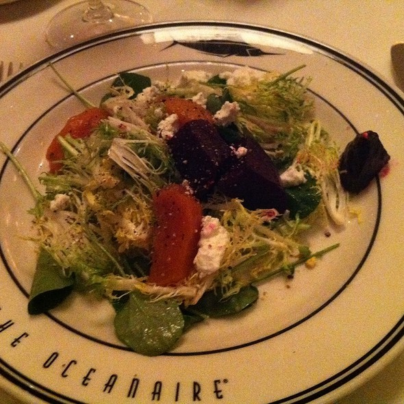 Beet Salad - Oceanaire Seafood Room - Denver, Denver, CO