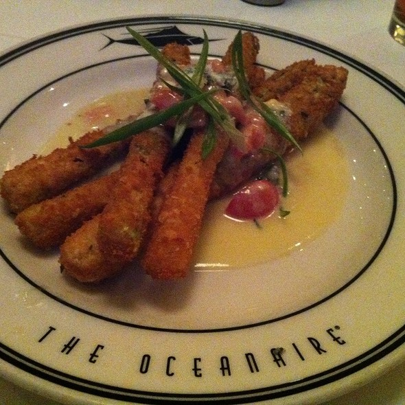Fried Asparagus - Oceanaire Seafood Room - Denver, Denver, CO