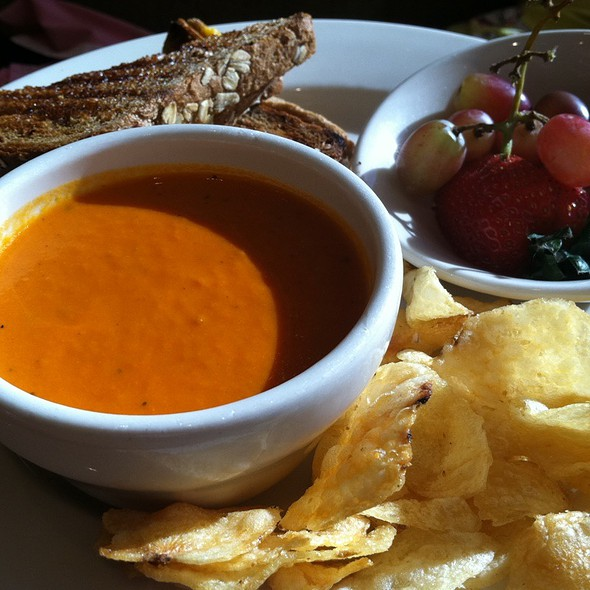 Grilled Cheese and Tomato Soup @ Nordstrom Cafe