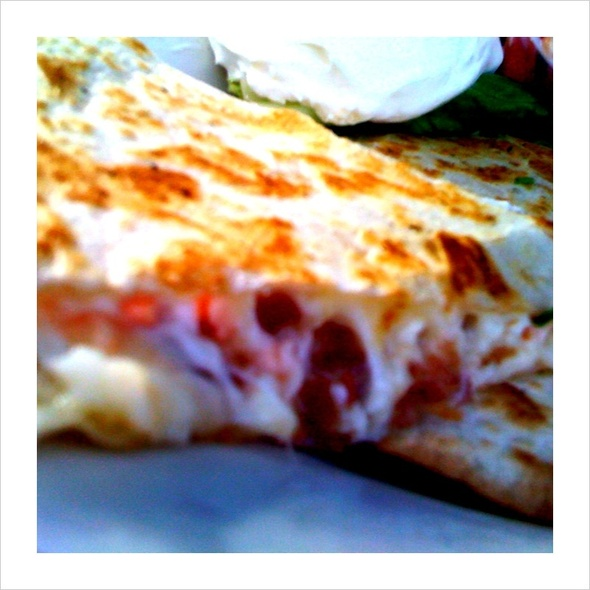 Lobster Bacon Quesadilla @ Gritty Mc Duff's