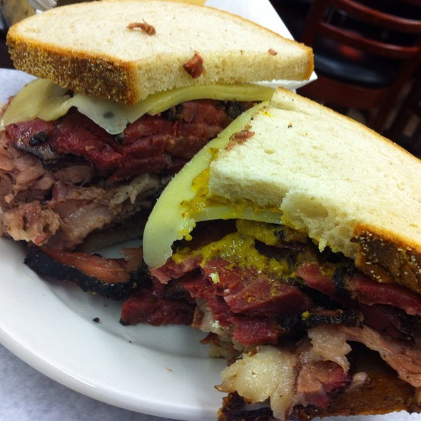 Pastrami And Brisket On Rye @ Katz's Delicatessen Inc