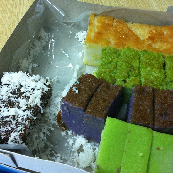 Assorted Malay Kuih @ AMOS Project room