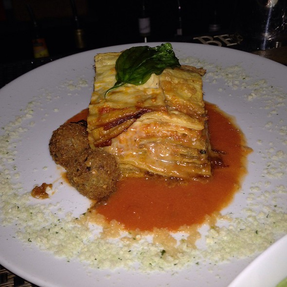 Eggplant Involtini - Bricco, Boston, MA