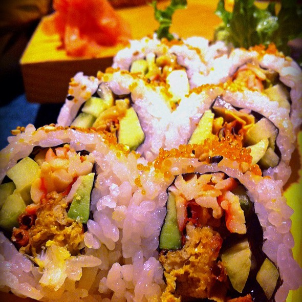 Sushi: Soft Shell Crab / Spider Roll @ Kamei Japanese Restaurant