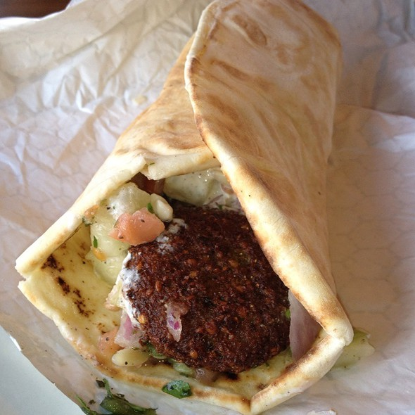 The Falafel Sandwich @ Astor Mediterranean
