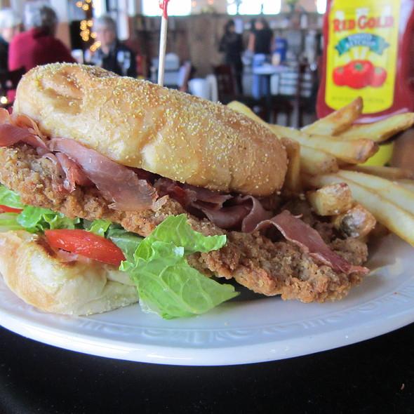 Hog Heaven Sandwich @ Sweet Grass Restaurant