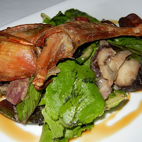 Sweet and Spicy Sausage Stuffed Quail