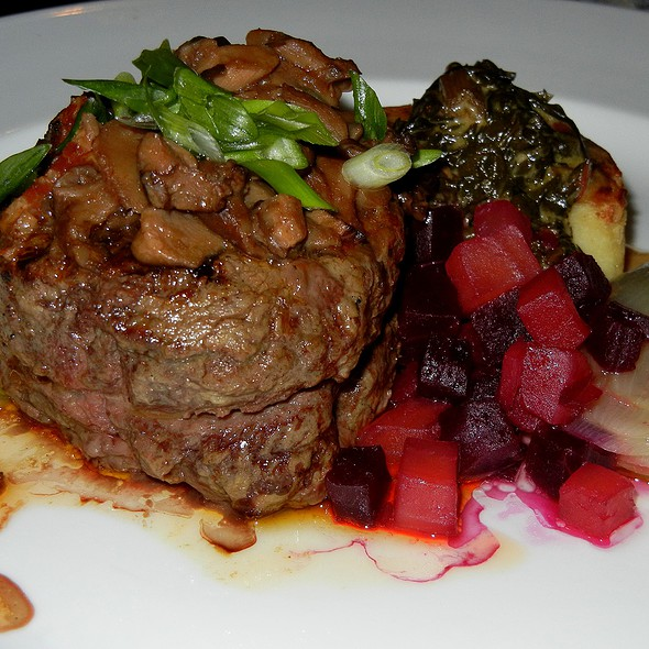 Filet Mignon - Crow's Nest - Hotel Captain Cook, Anchorage, AK