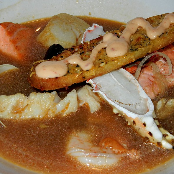 Seafood Bouillabaisse - Crow's Nest - Hotel Captain Cook, Anchorage, AK
