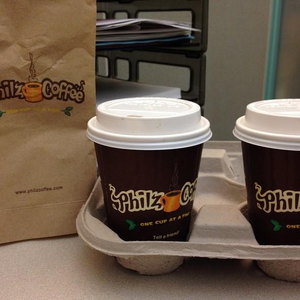 Philtered Soul Coffee @ Philz Coffee