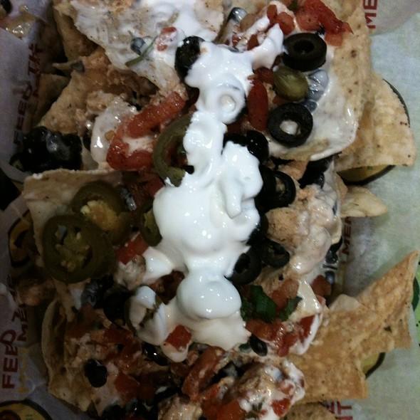 Chicken Nachos @ Moe's Southwest Grill