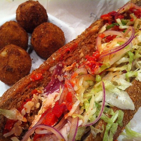 Spruce Street Wheat Hoagie And Rocky Risotto Balls @ Taylor Gourmet
