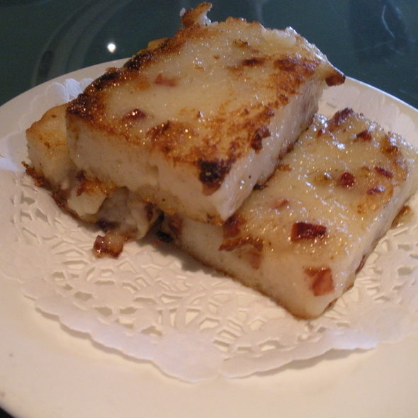 Pan-fried turnip cake @ Zen Chinese Cuisine