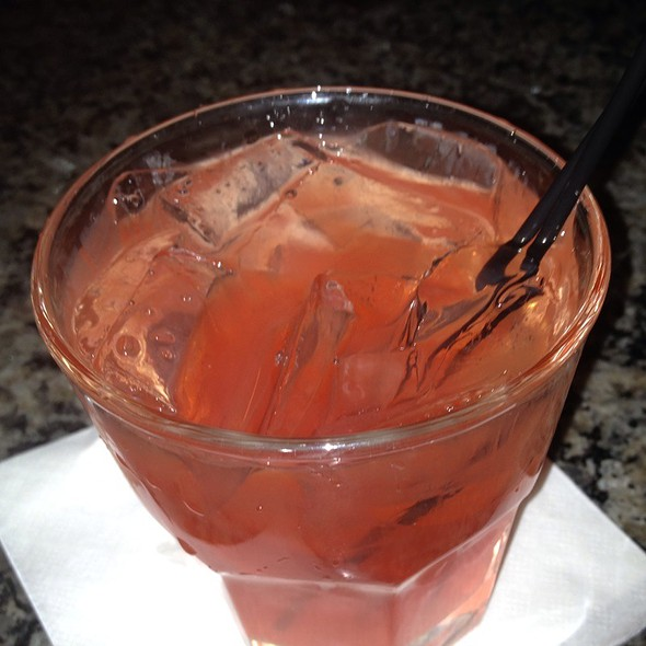 Red Berry Ciroc, Pineapple With A Splash Of Cranberry - Fountain Bistro, Detroit, MI