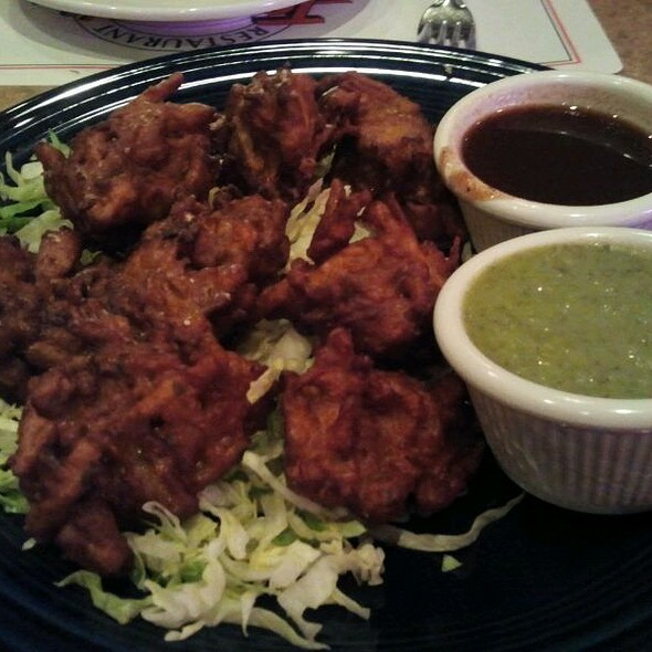 Vegetable Pakora @ Tamber's
