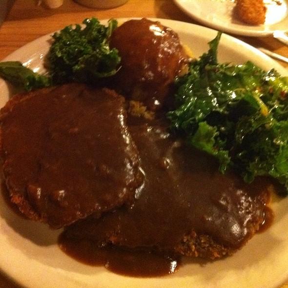 Vegetarian Chicken Fried Steak @ Green Vegetarian Cuisine & Coffee