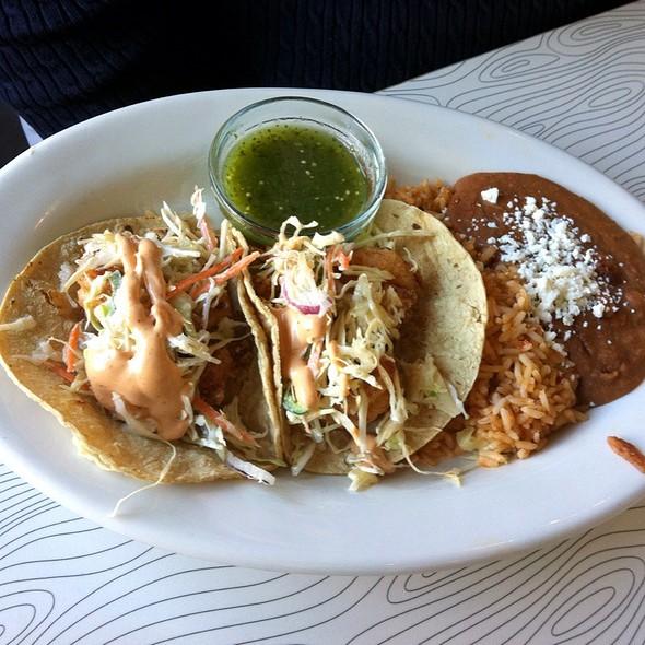 Tacos de camarones @ Pure Taqueria Duluth