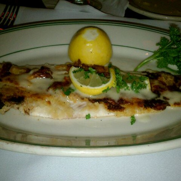 Dover Sole - The Grill on Hollywood, Hollywood, CA