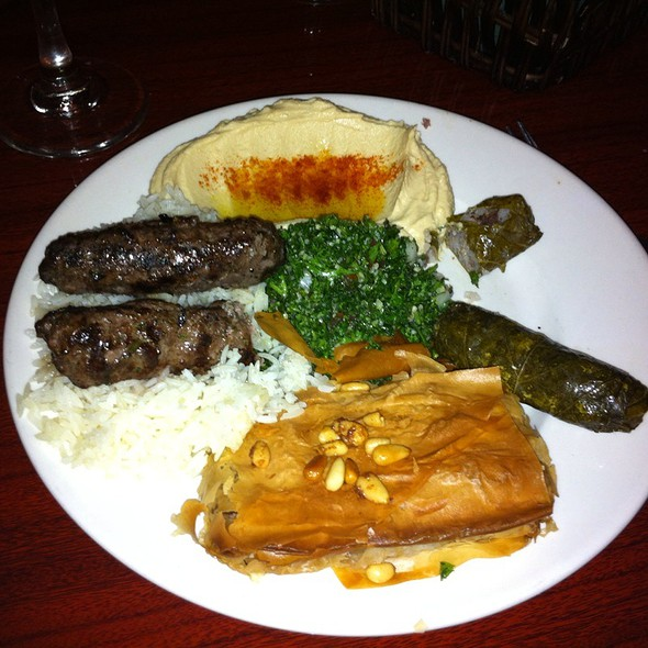 Butterfly Combination - Skewers Mediterranean Grille, Indialantic, FL