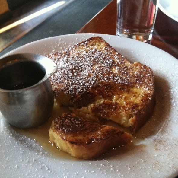 Banana Stuffed French Toast @ Flavor