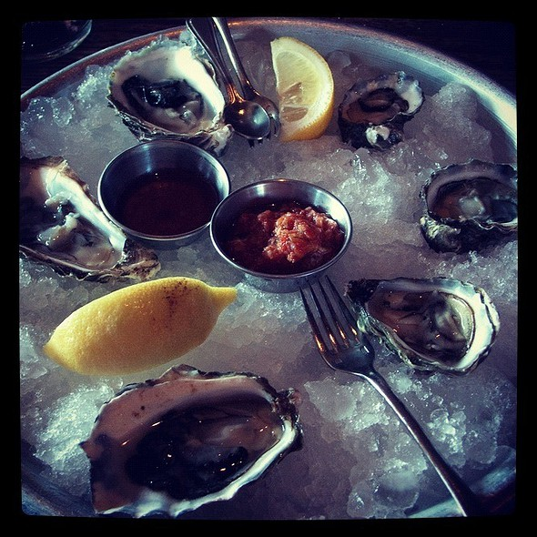 Oysters @ Gjelina