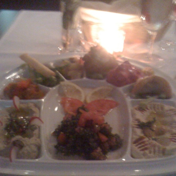 Meze Plate @ Restaurant Bar noon