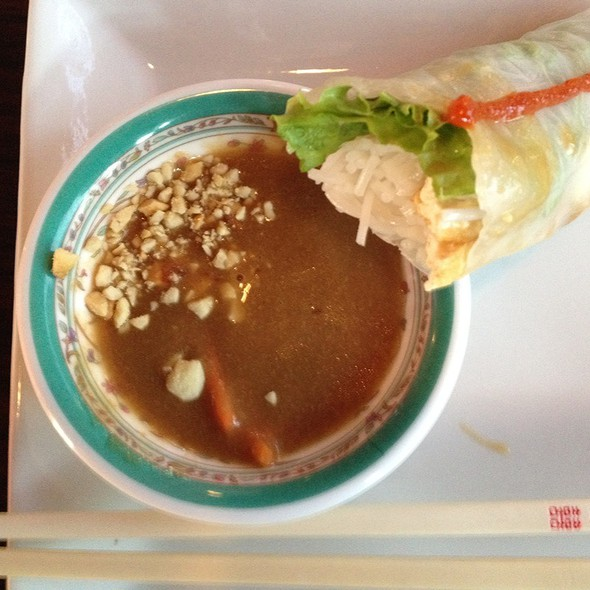 Fresh Vegetarian Spring Rolls @ Pho Hoang Minh