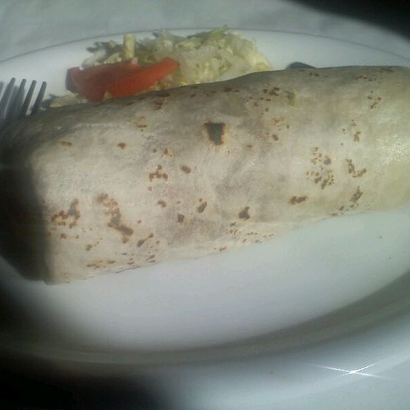 Super Carnitas Burrito @ Jose's Mexican Bar & Grill
