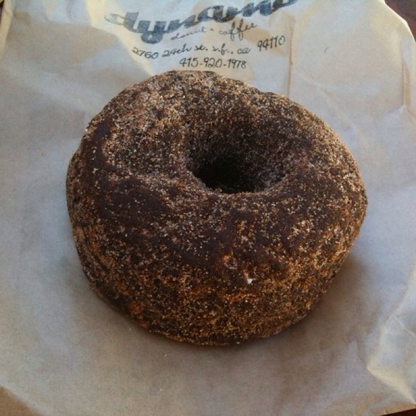 Spiced chocolate donuts @ Dynamo Donut & Coffee
