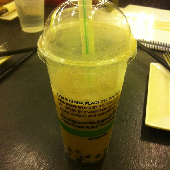 Coconut Milk Tea With Tapioca @ Joy Yee Noodle
