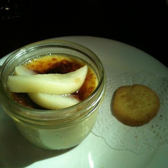 Creme Brulee @ Monarch Restaurant