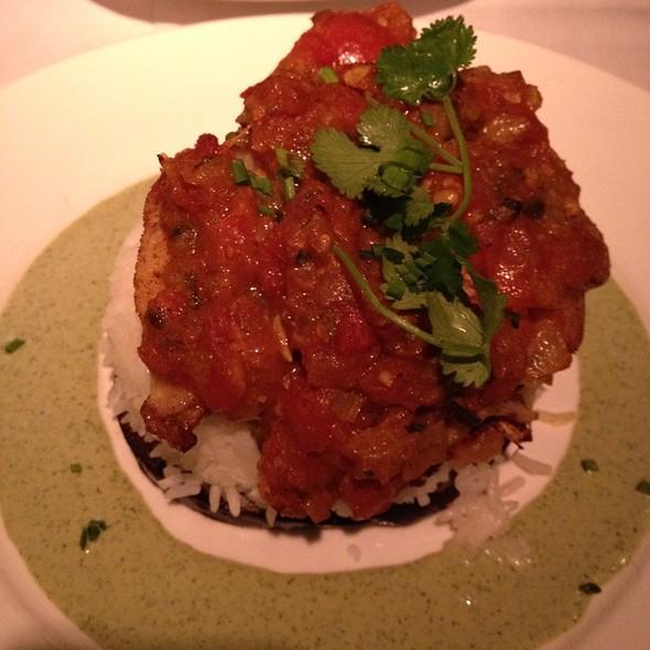 Pan Fried Grouper - Bernardin's Restaurant at the Zevely House, Winston-Salem, NC