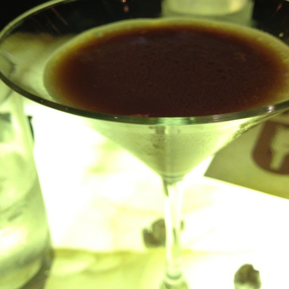 Chocolate Espresso Martini @ Buckhead Bottle Bar