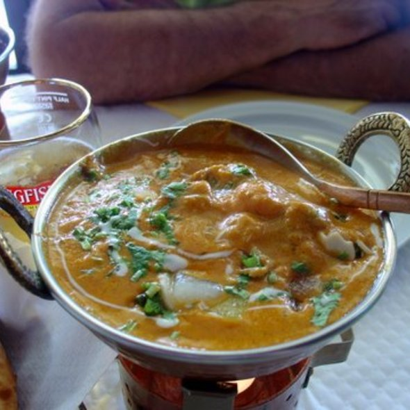 Chicken Korma @ Shalimar  Indian Restaurant