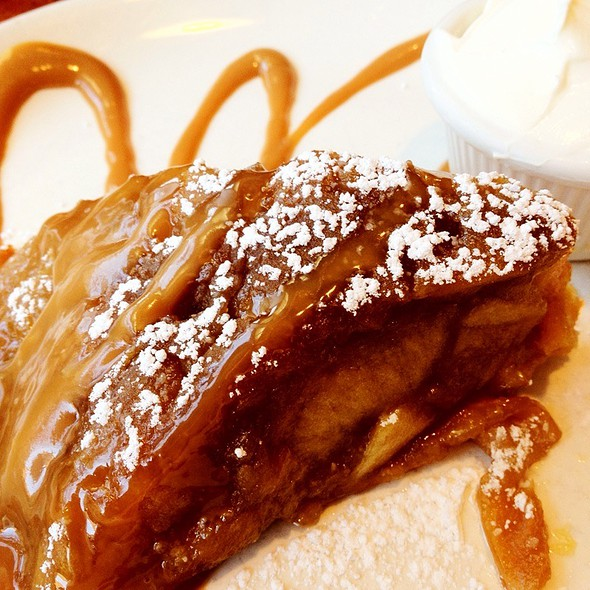 Apple Tatin W/ Creme Fraiche @ Crepes On Columbus