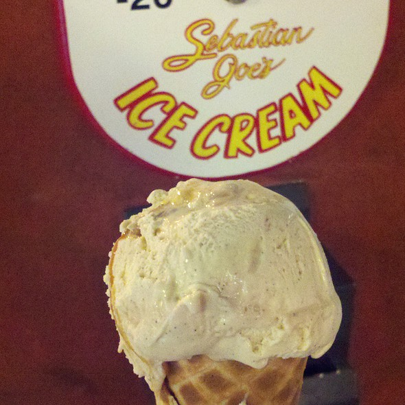 Salty Caramel Ice Cream @ Sebastian Joe's Ice Cream Cafe