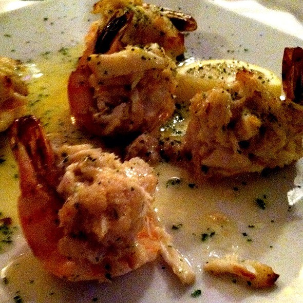 Shrimp Stuffed With Crabmeat @ Vaso's Kitchen