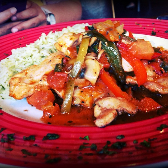 Chicken With Mushroom And Peppers