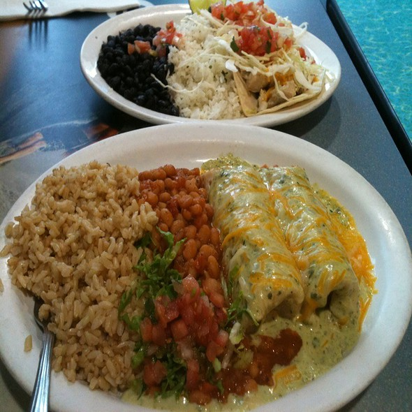 California Enchiladas @ Wahoo's Fish Taco's