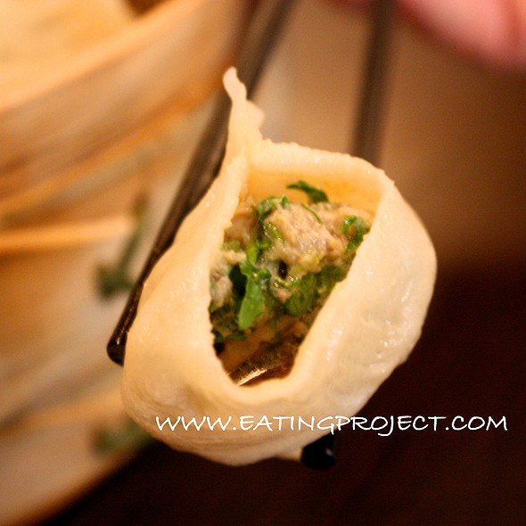 Lamb and Coriander Dumpling @ Qing Hua Dumplings