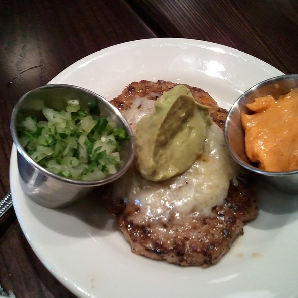 Guacamole Turkey Burger @ DMK Burger Bar