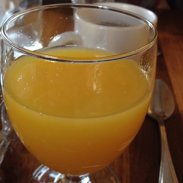 Fresh Squeezed Orange Juice @ Bistro Central Parc