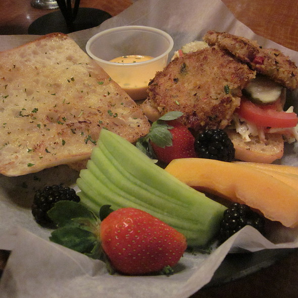 Crab Cake Sandwich - Jambalaya, St. Charles, IL