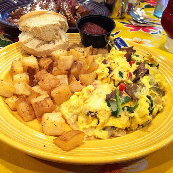 Veggie Scramble @ The Flying Biscuit Cafe